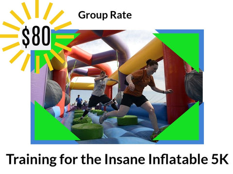 Inflatable 5k Online Training Program - Group Rate (3 or more people)