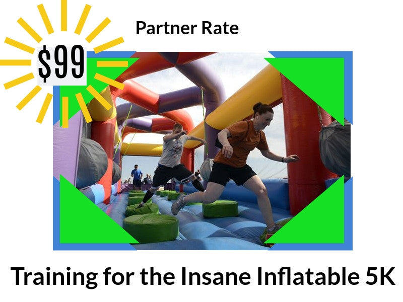 Inflatable 5k Online Training Program - Partner Rate