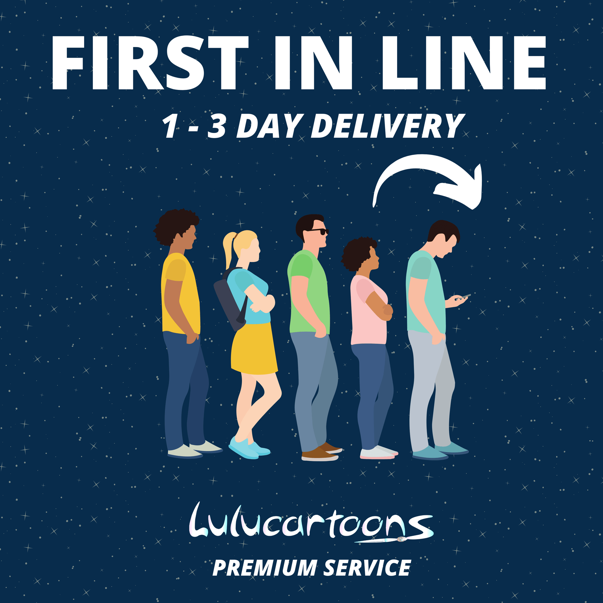 EXPRESS DELIVERY! 1 - 3 Days