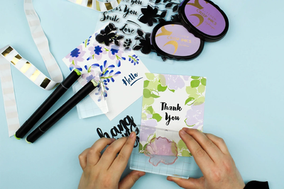 How to Make a Beautiful Handmade Card in 15 Minutes