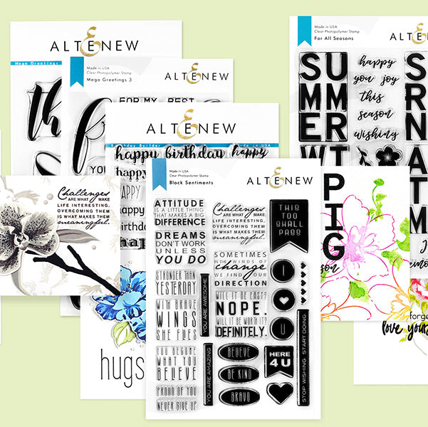 802 Best Images About Sentiments For Cards On Pinterest: Express Your Feelings With Altenew