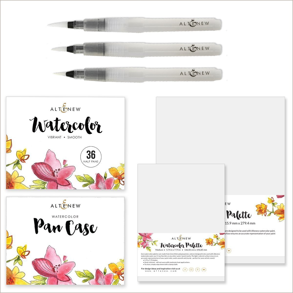 August 2018 Watercolor Pan Set Release