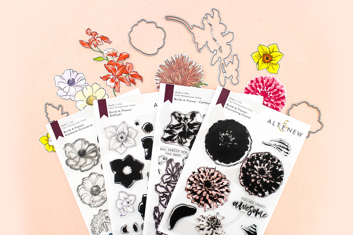 Floral Stamps - Altenew