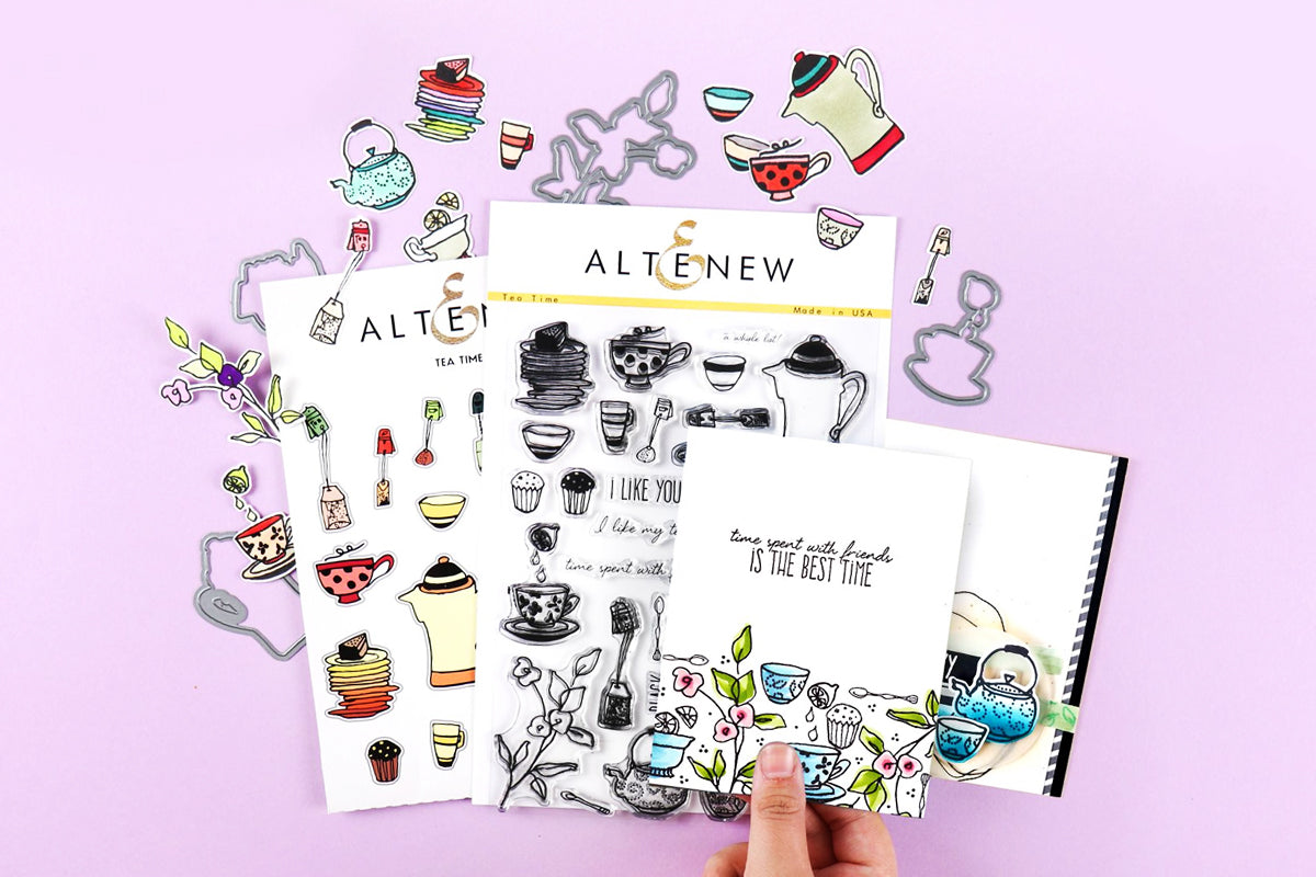 edible stamps by Altenew