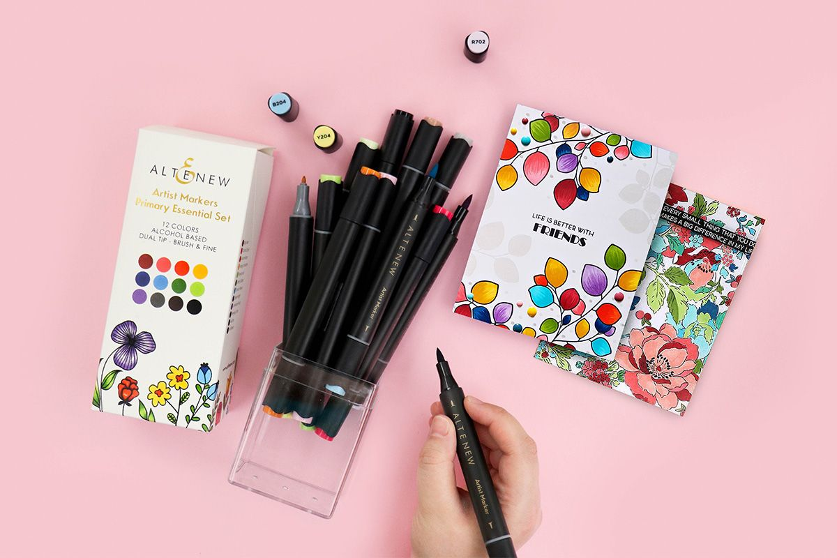 Altenew Primary Essential Art Markers Set