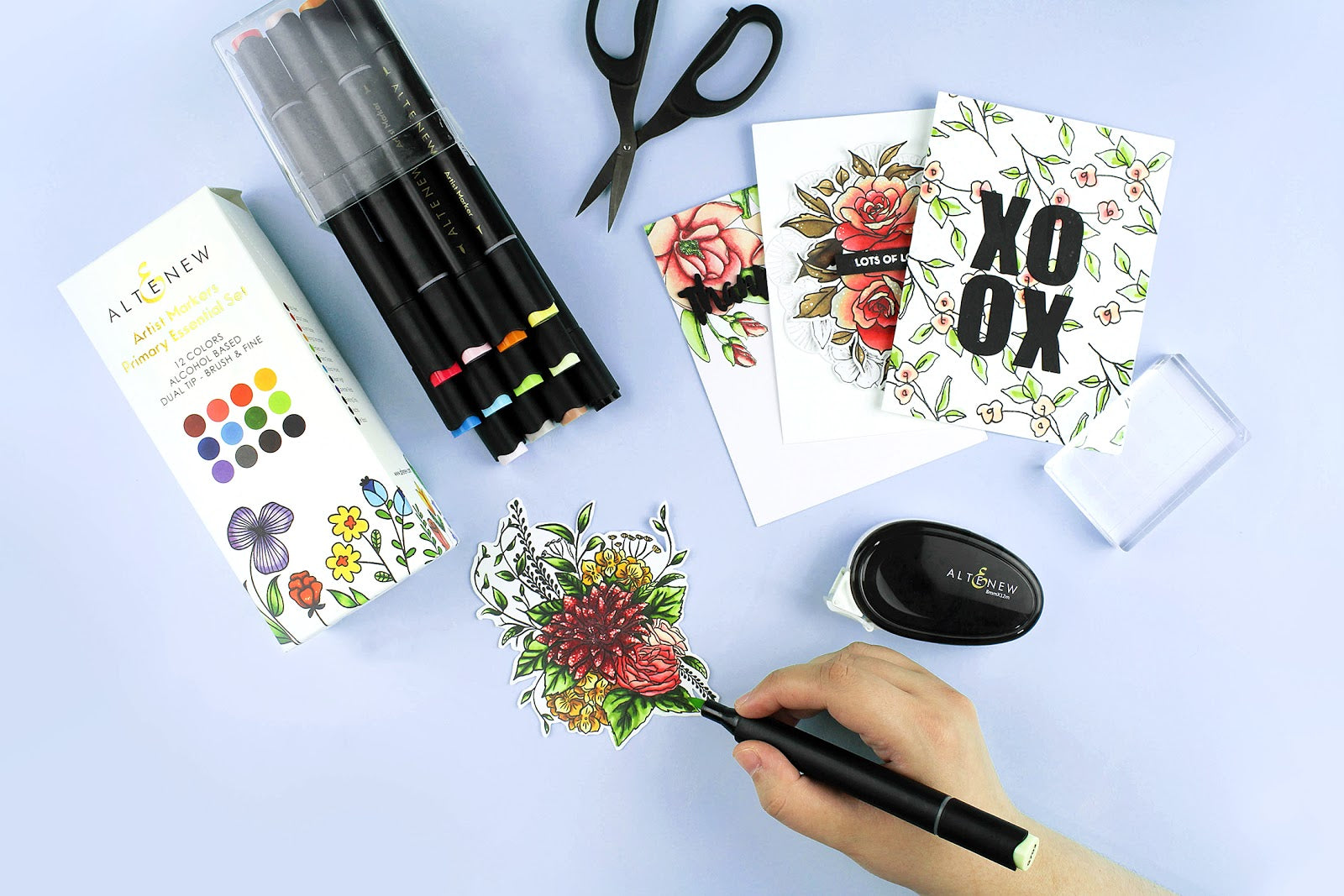 Artist Markers Primary Essentials Set