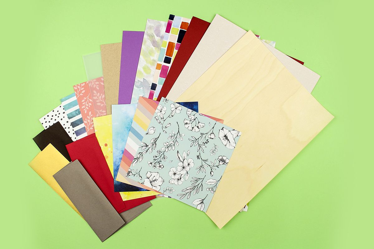 Colored cardstock paper