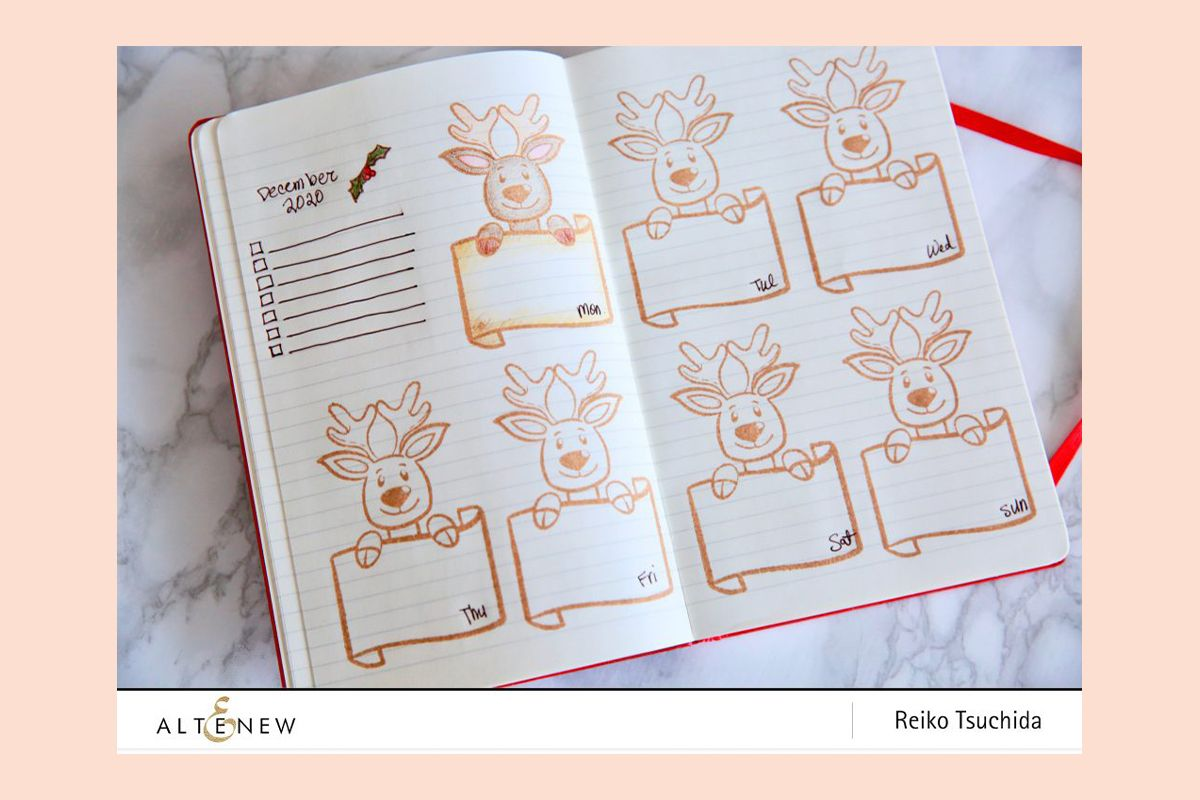 Decorate your journal