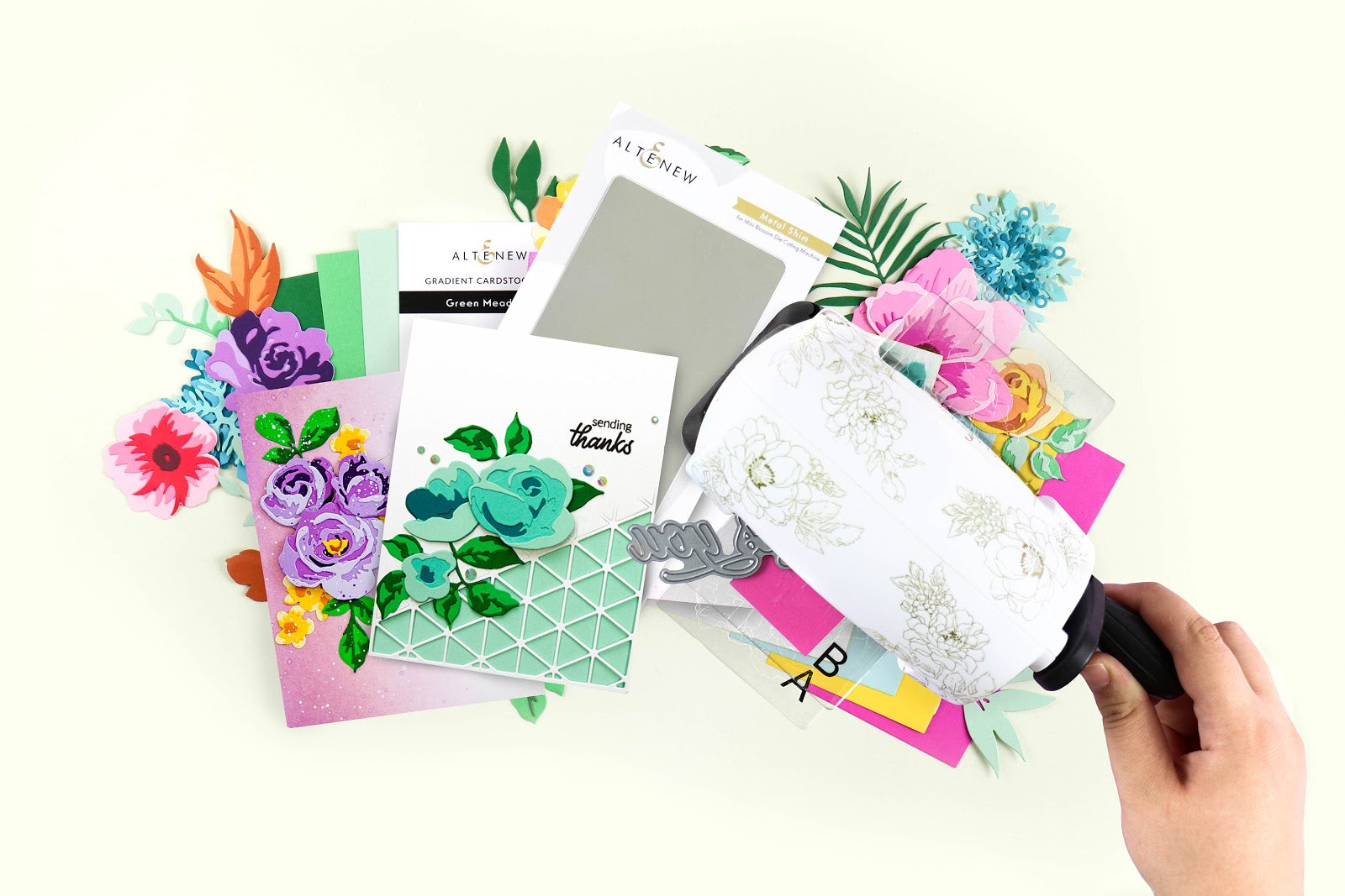 Die Cutting Essentials & Gradient Cardstock Bundle