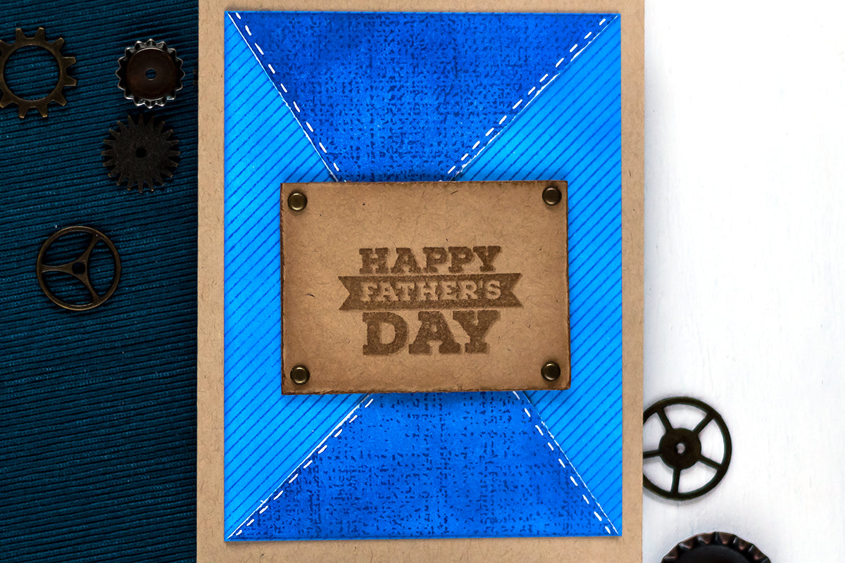 Easy Father's Day card idea from Altenew