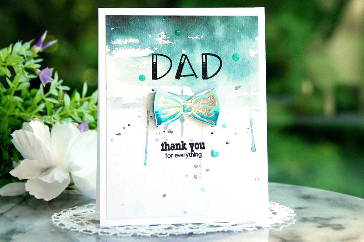 Easy father's day card idea