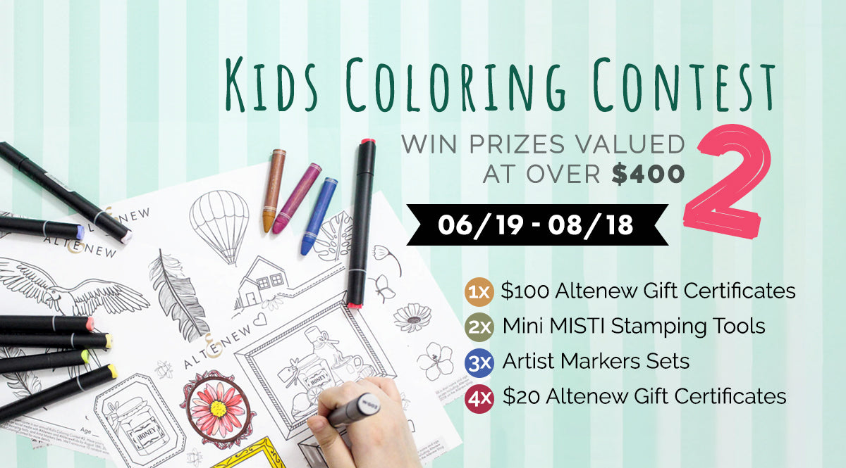 Kids Coloring Contest — Tagged \