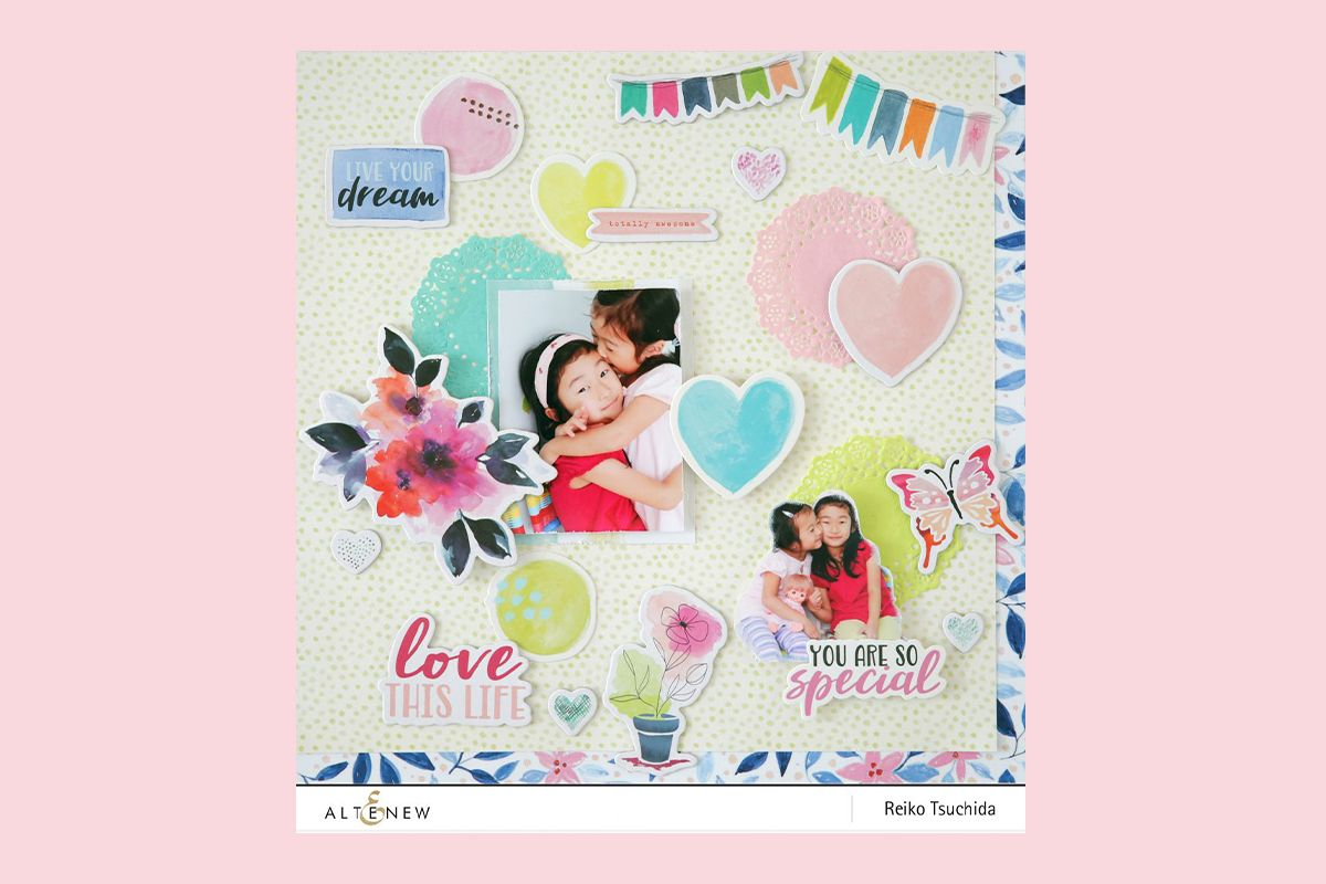 Live Your Dream Scrapbook Collection