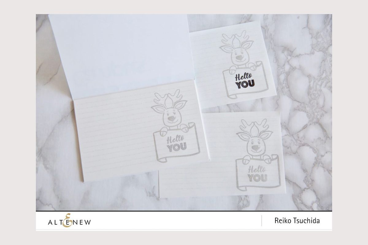 Making your own stationery