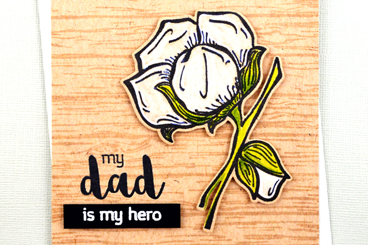 Quick and easy father's day card idea