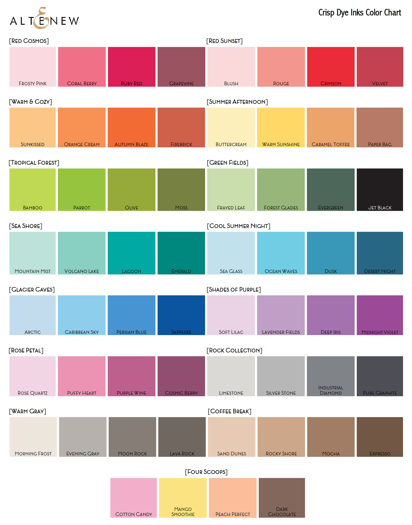 Nature Color Swatch