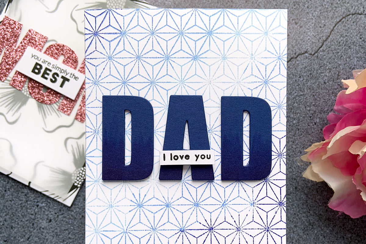 Simple and easy father's day card inspiration