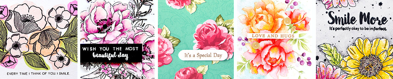 Get Altenew's bestselling beautiful and elegant floral layering stamp sets!