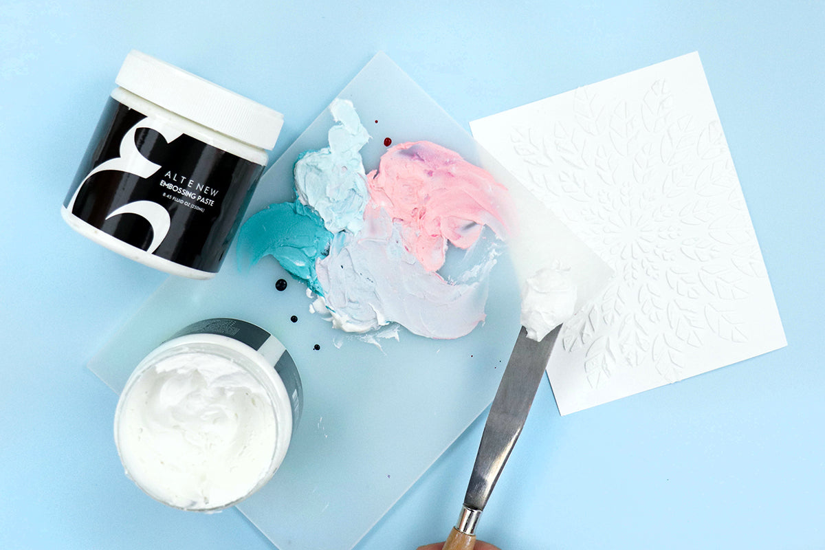Embossing paste from Altenew