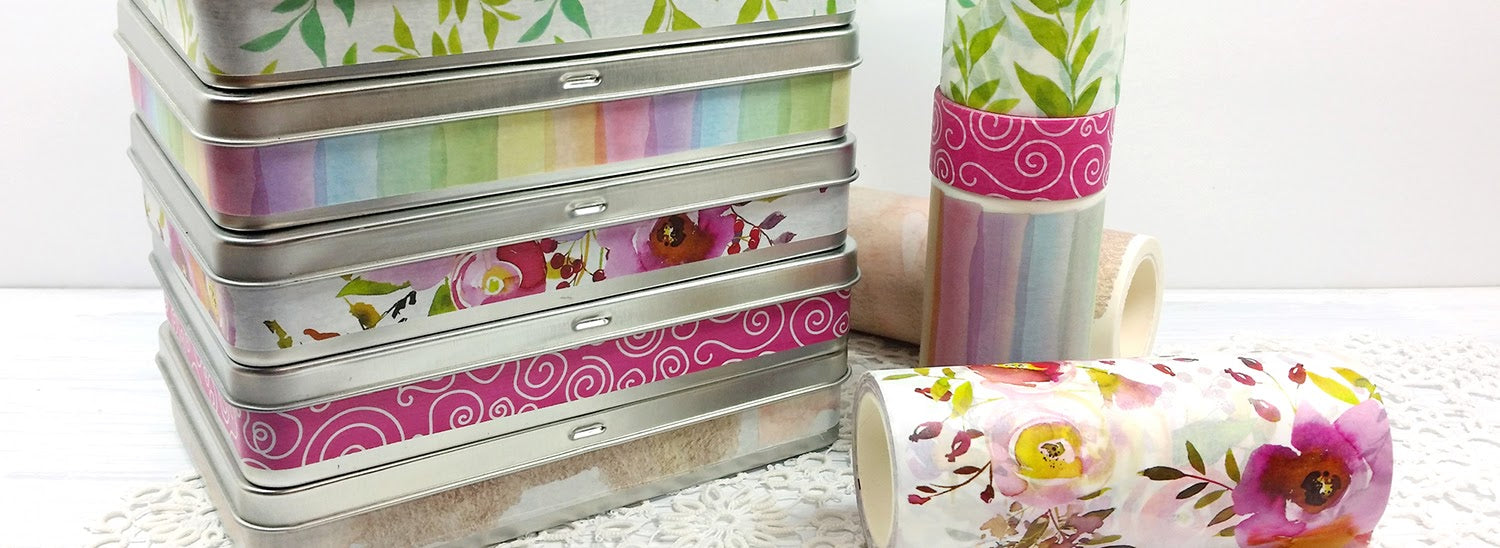 washi tape for gifts