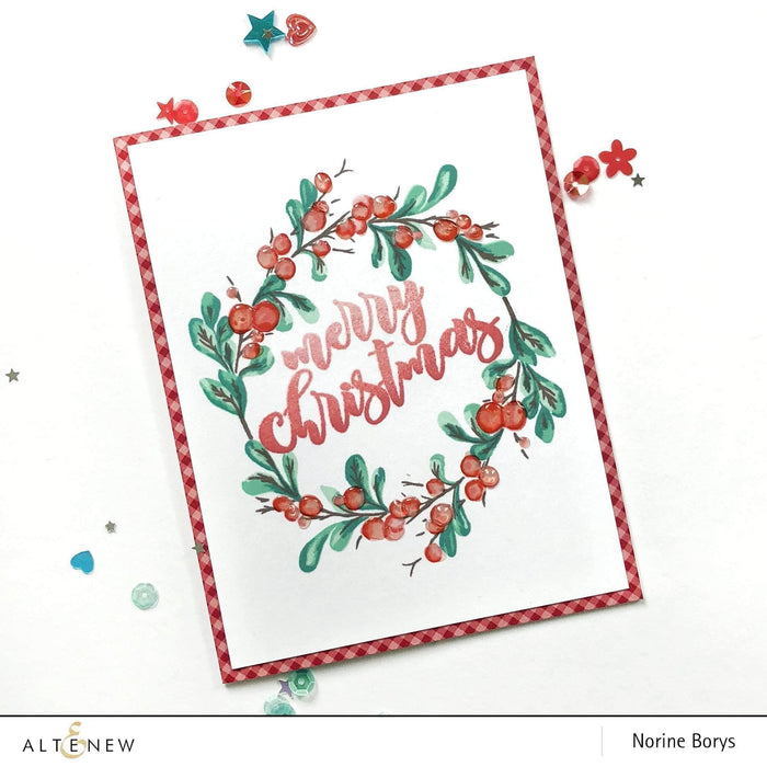 Altenew Clear Stamps Bountiful Branch Stamp Set