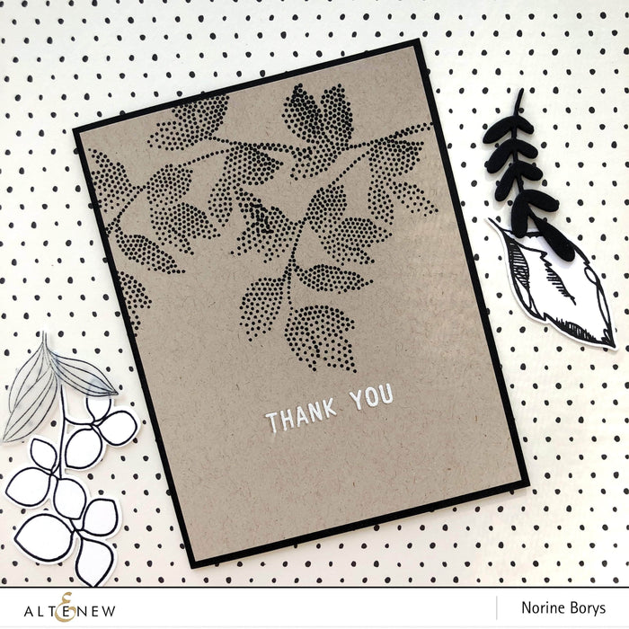 Altenew Clear Stamps Dot Art Stamp Set