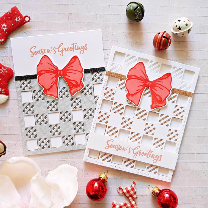 Holiday Bow Stamp Set