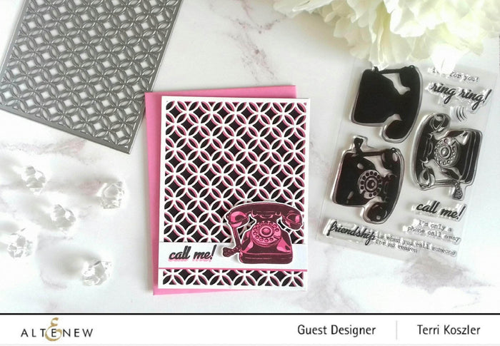 Altenew Clear Stamps It's For You Stamp Set
