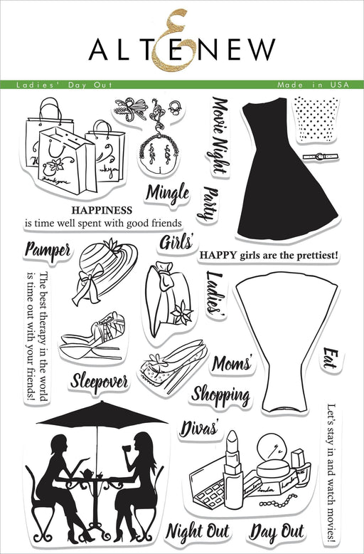 Altenew Clear Stamps Ladies' Day Out Stamp Set