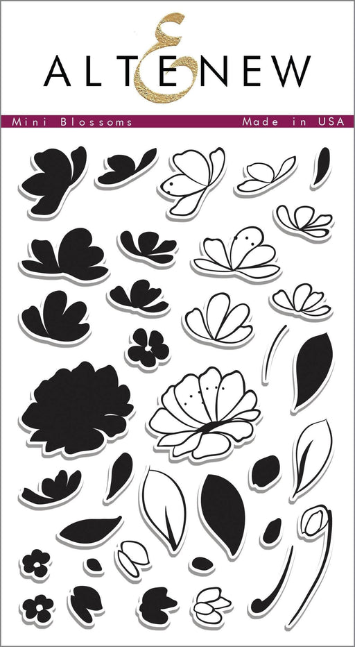 Altenew Clear Stamps Mini Blossoms Stamp Set