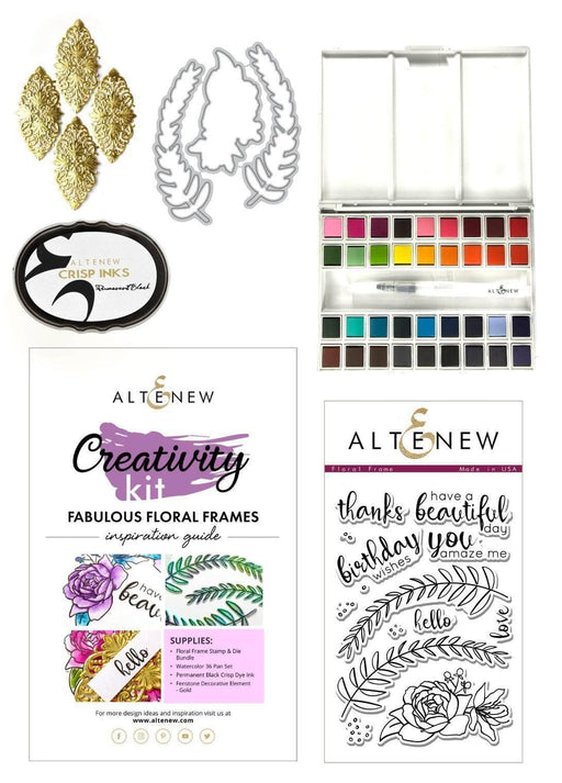 Altenew Creativity Kit Bundle Fabulous Floral Frames Creativity Kit