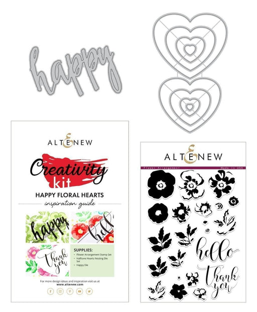 Altenew Creativity Kit Bundle Happy Floral Hearts Creativity Kit