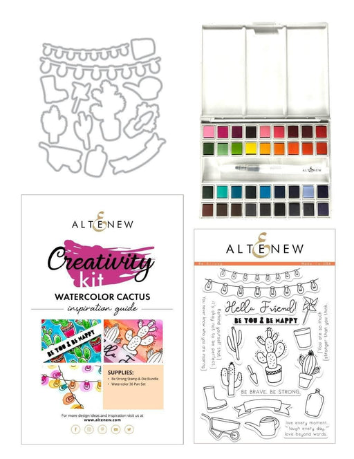 Altenew Creativity Kit Bundle Watercolor Cactus Creativity Kit