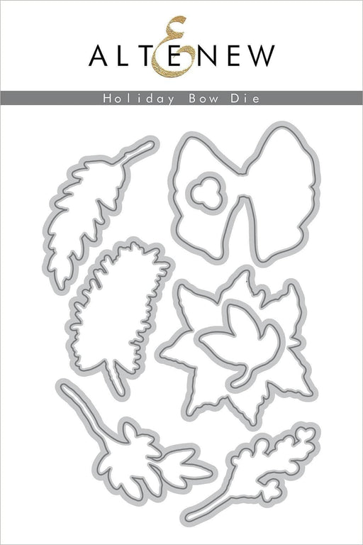 Altenew Dies Holiday Bow Die Set