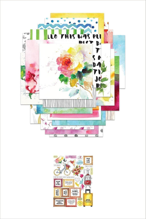 Altenew Embellishment Bundle Reflection Collection Paper & Sticker Sheet Bundle