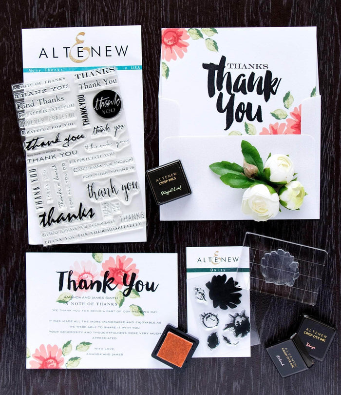 Altenew Kit Thank You Stamping Kit