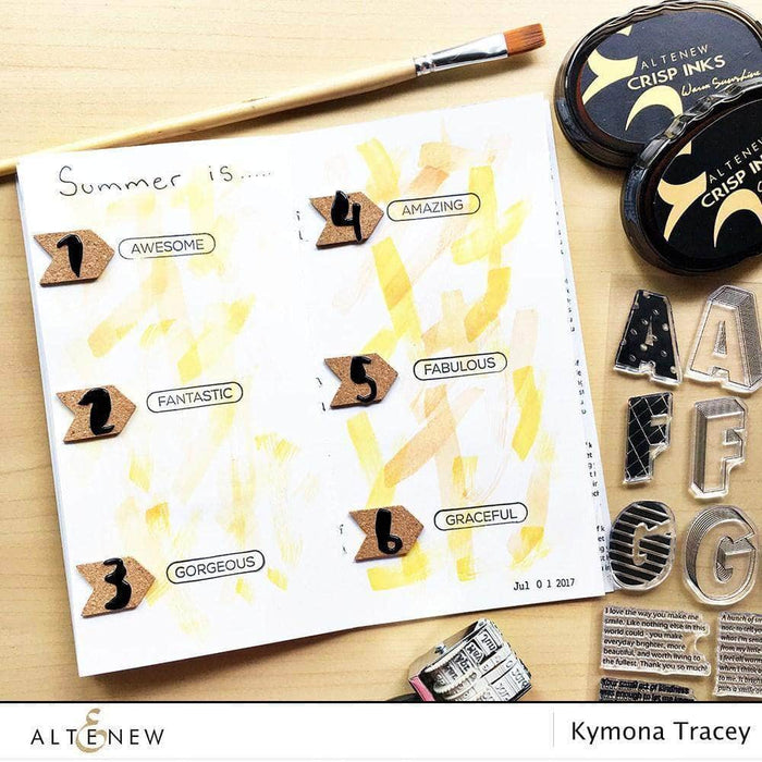 Altenew Scrapbook Reflection Collection Roller Stamp