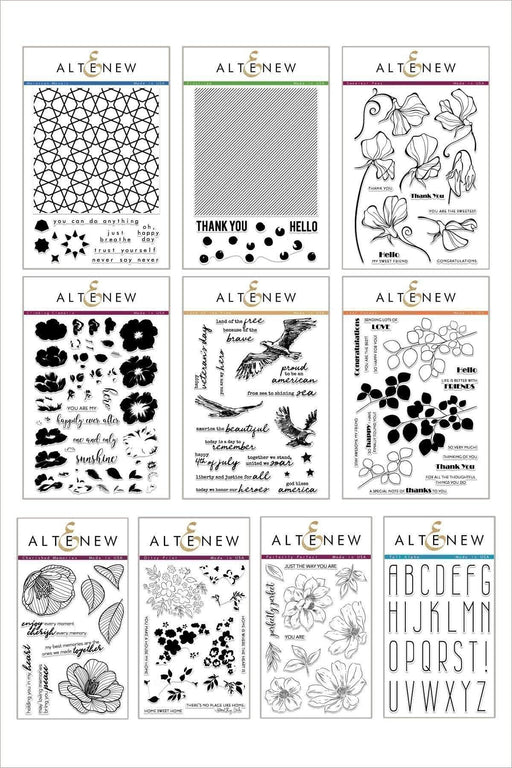 Altenew Stamp Bundle Celebrate & Captivate Stamp Bundle