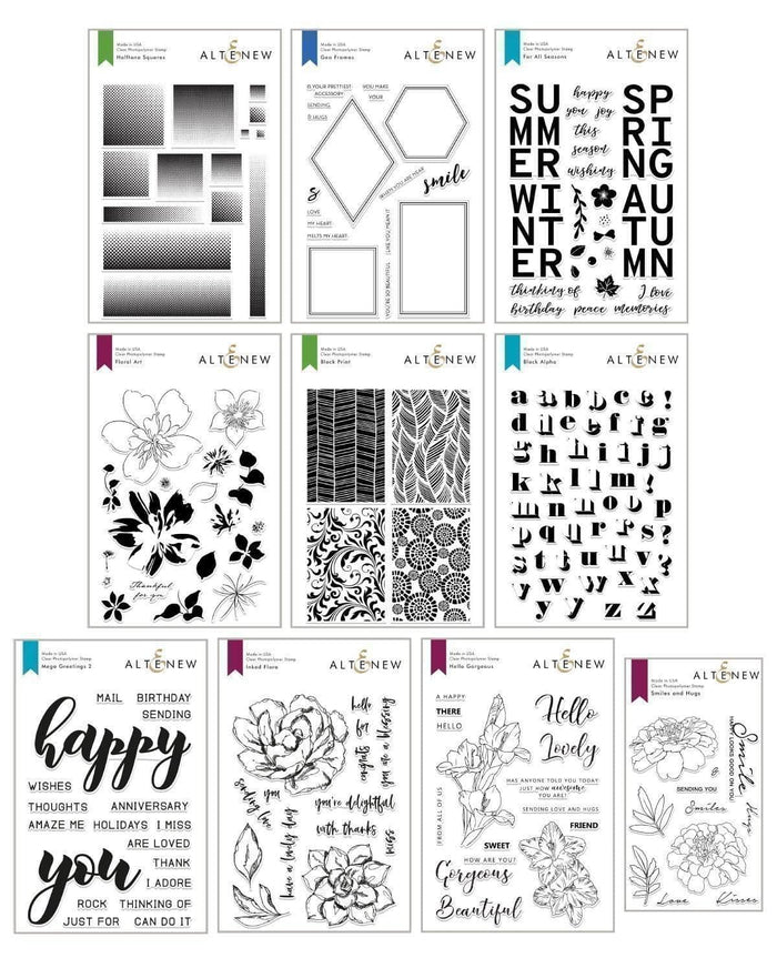 Altenew Stamp Bundle Creative Coloring Stamp Bundle