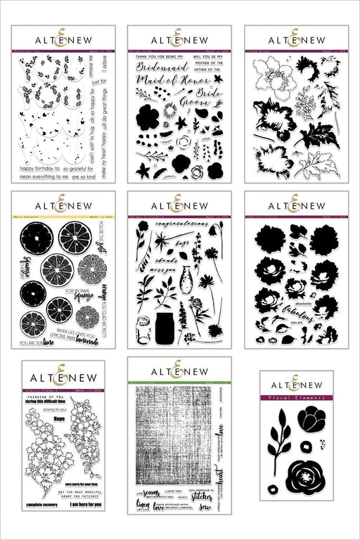 Altenew Stamp Bundle Fruits & Florals Stamp Bundle