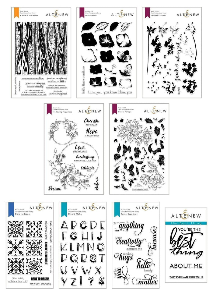 Altenew Stamp Bundle May 2019 Stamp Bundle