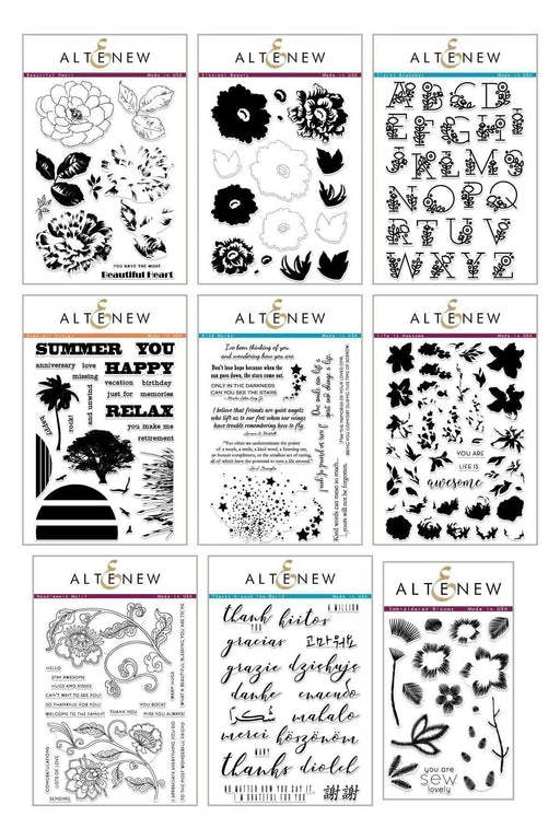 Altenew Stamp Bundle Sew in Love Stamp Bundle
