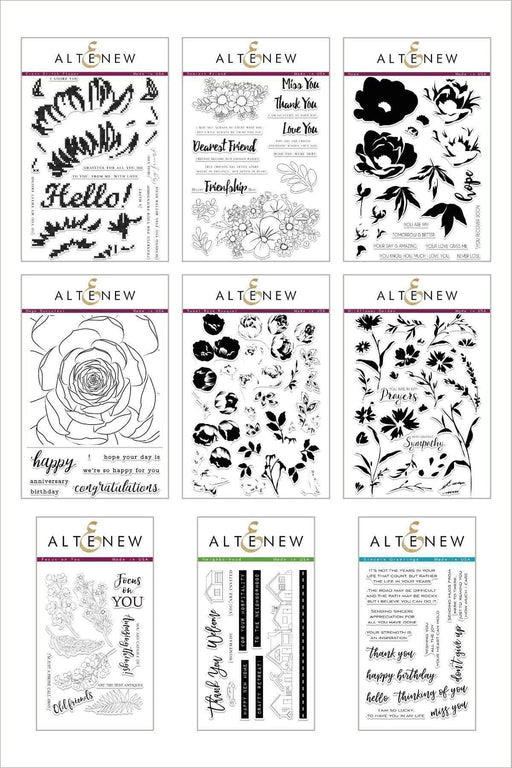 Altenew Stamp Bundle Stitch & Stamp Stamp Bundle