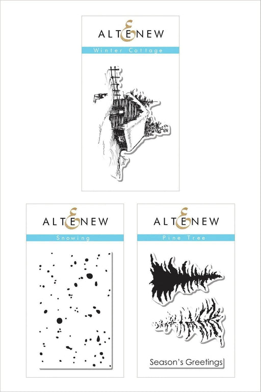 Altenew Stamp Bundle Winter Mini Stamp Bundle