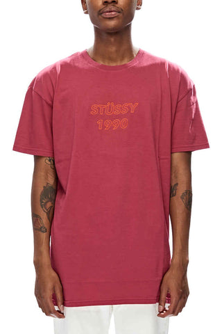 Stussy 1990 SS Tee Red
