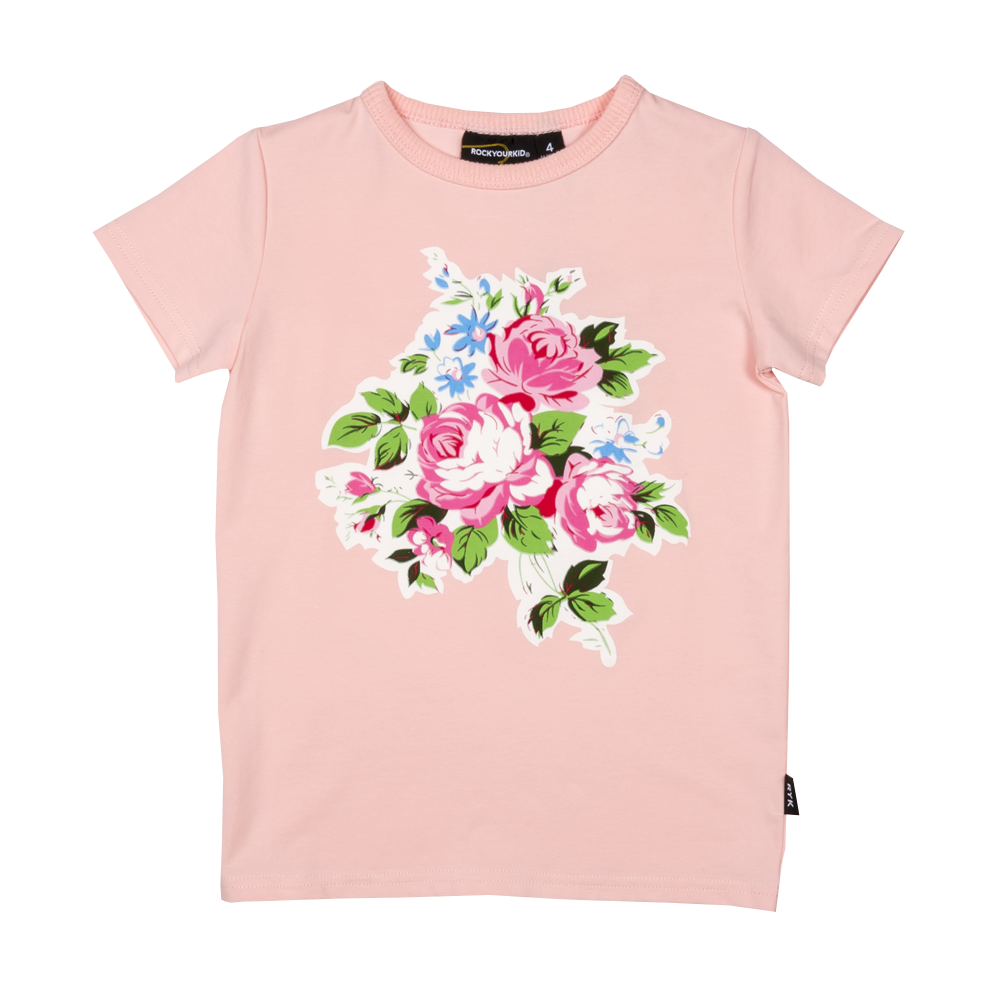 Rock Your Baby Pink Maeve SS T-Shirt Pink