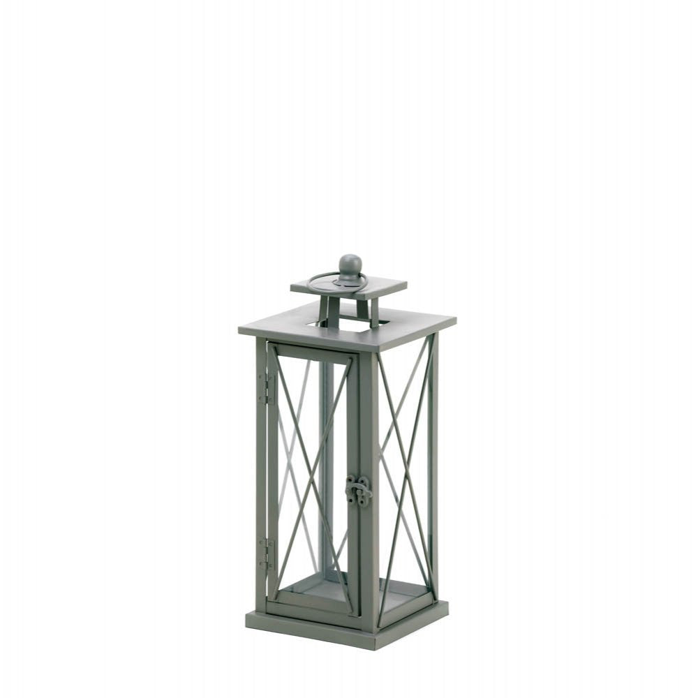 Small Railroad Crossing Candle Lantern