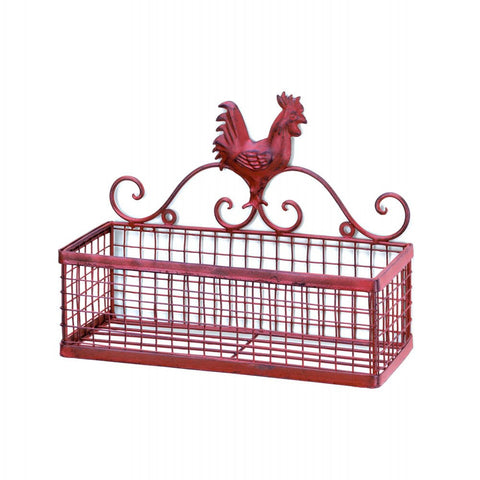 Rooster Single Wall Basket