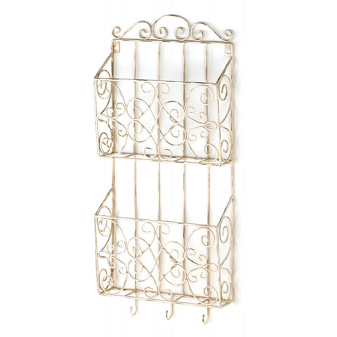 Cottage Charm Dual Wall Rack