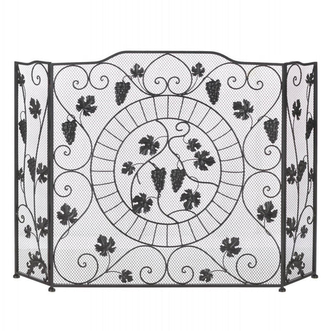 Vineyard Fireplace Screen